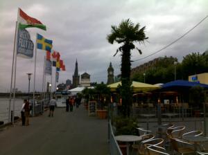 Paseo del Rin, Dusseldorf en Otoño