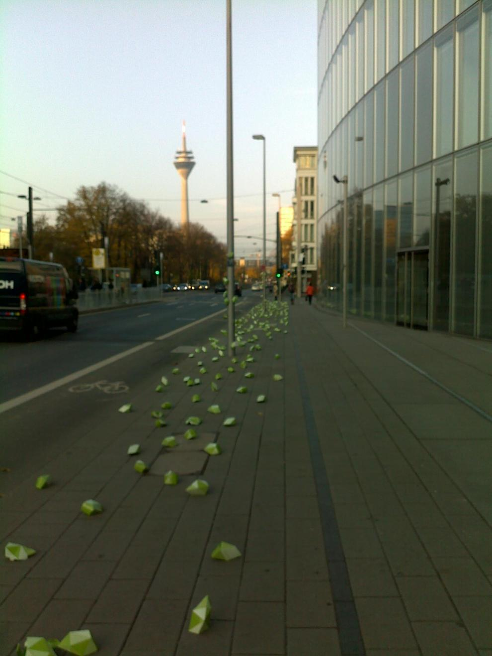 marketing de guerrilla en dusseldorf