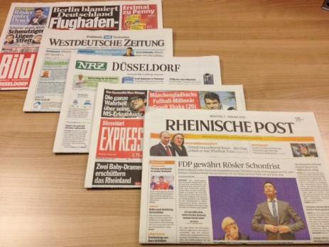 Medios en Dusseldorf